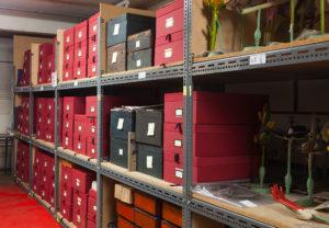 Natural history stores