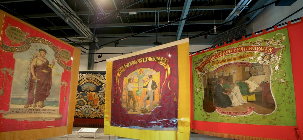 Banners section - Main Gallery Two @ People's History Museum 2